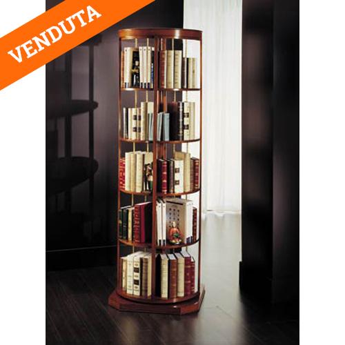 Libreria classica girevole